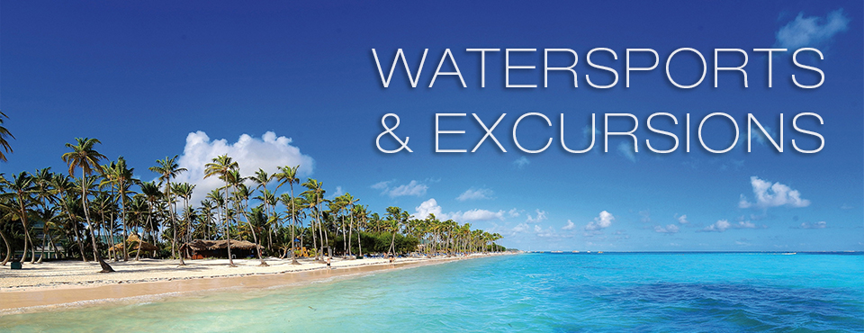 Watersports and Excursions